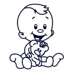 Samolepka dítě v autě se jménem- kluk 19