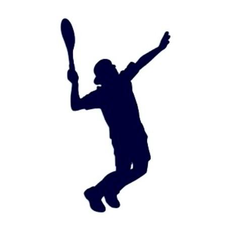 Samolepka na auto-tenis