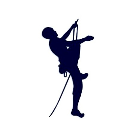 Samolepka na auto-horolezectví